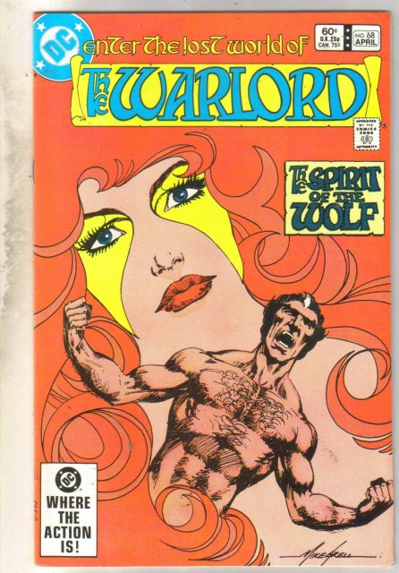 Warlord #68 comic book very fine 8.0