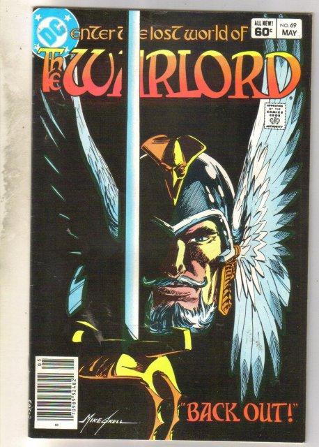 Warlord #69 comic book very fine 8.0