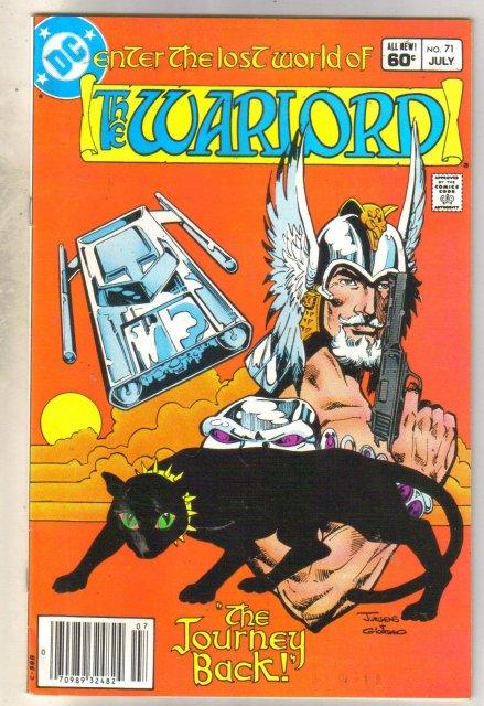 Warlord #71 comic book very fine 8.0
