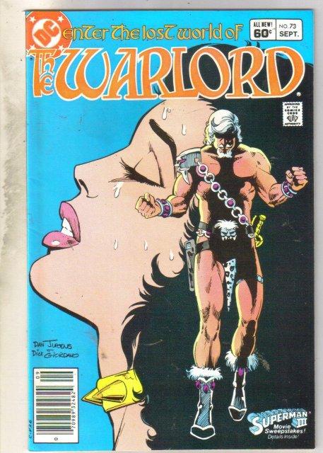 Warlord #73 comic book near mint 9.4