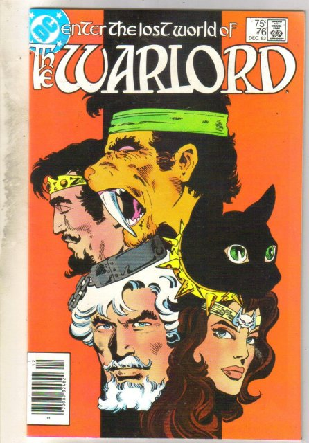 Warlord #76 comic book near mint 9.4