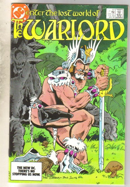 Warlord #77 comic book near mint 9.4
