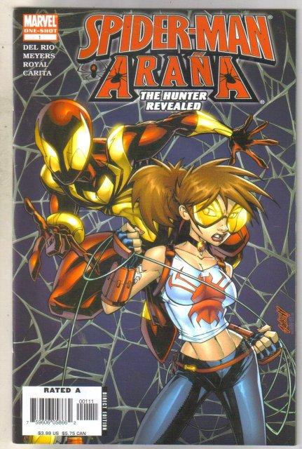 Spider-man Arana One-Shot mint 9.8