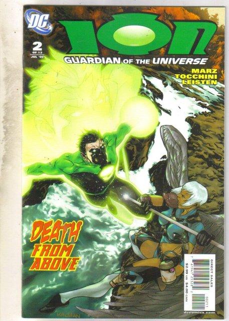 Ion #2 comic book mint 9.8