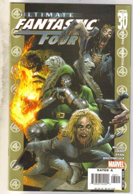 Ultimate Fantastic Four 330 comic book near mint 9.4