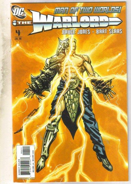 Warlord #4 comic book mint 9.8