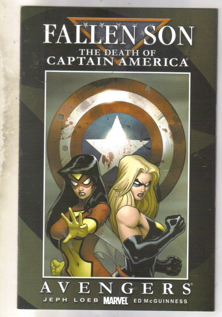 Fallen Son The Death of Captain America Chapter Two comic book mint 9.8