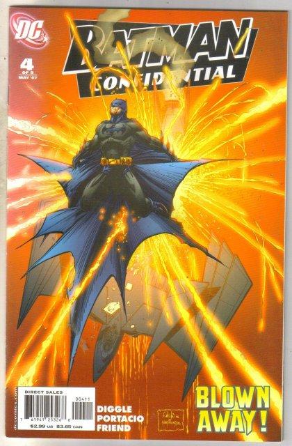 Batman Confidential #4 comic book near mint 9.4