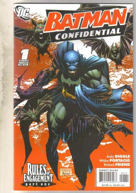 Batman Confidential #1 comic book near mint 9.4