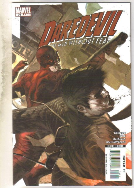 Daredevil #96 comic book near mint 9.4