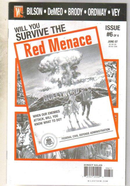 Red Menace #6 comic book mint 9.8