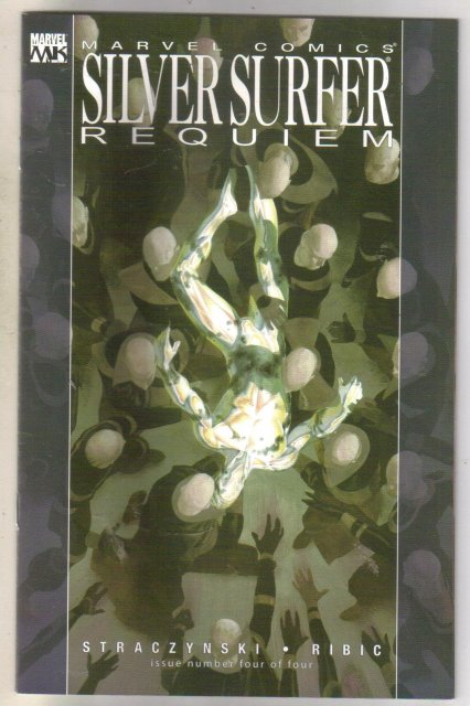 Silver Surfer Requiem comic book mint 9.8
