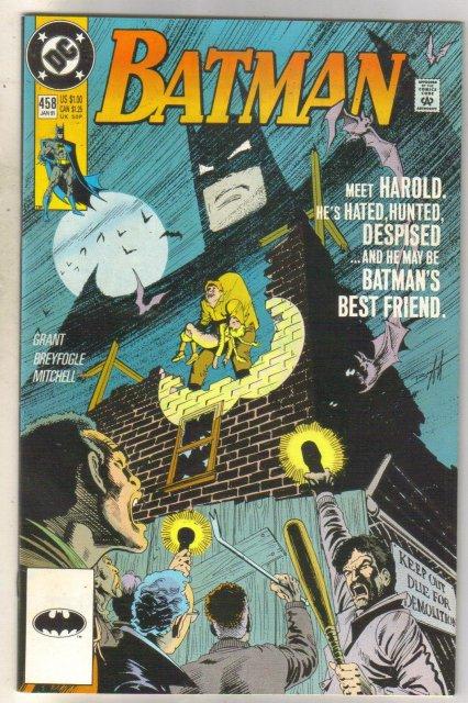 Batman #458 comic book near mint 9.4