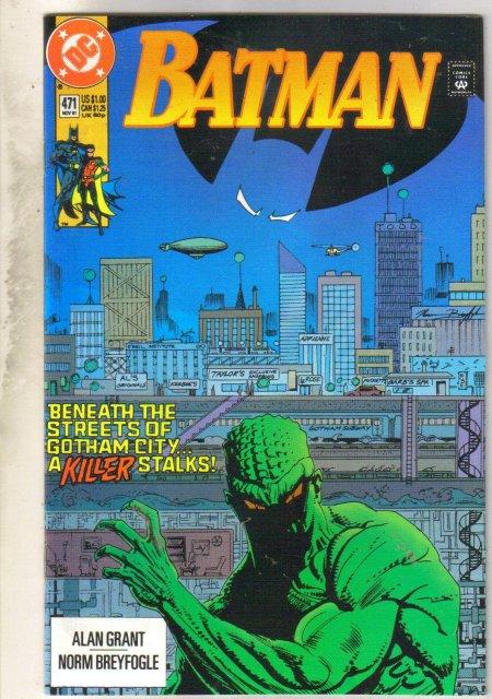 Batman #471 comic book mint 9.8