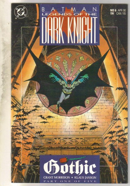 Batman Legends of the Dark Knight #6 comic book mint 9.8