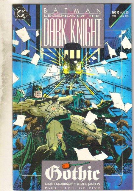 Batman Legends of the Dark Knight #10 comic book mint 9.8