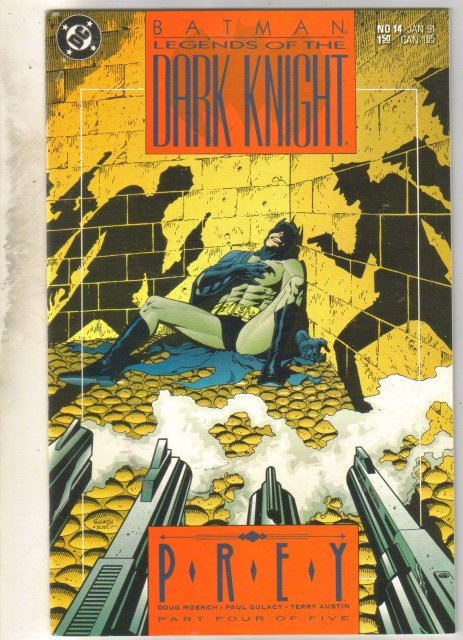 Batman Legends of the Dark Knight #14 comic book near mint 9.4