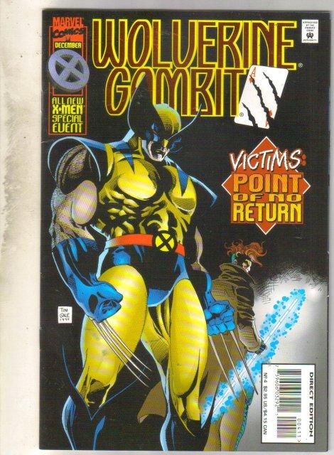 Wolverine Gambit #4 comic book mint 9.8