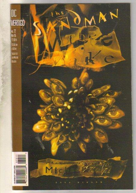 Sandman #72 comic book mint 9.8
