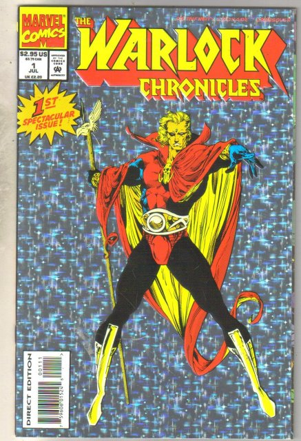 Warlock Chronicles #1 comic book mint 9.8