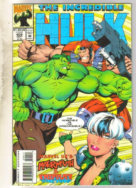 Incredible Hulk #409 comic book mint 9.8