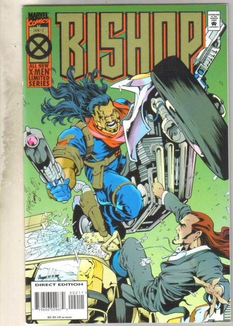 Bishop #2 comic book mint 9.8