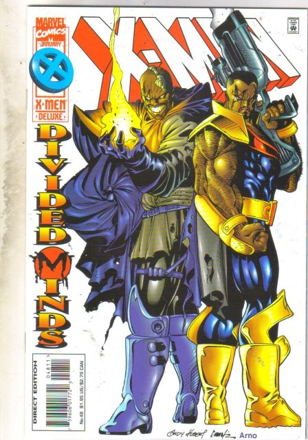 X-Men #48 comic book very fine 8.0