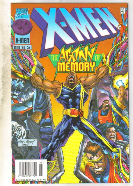 X-Men #52 comic book very fine 8.0