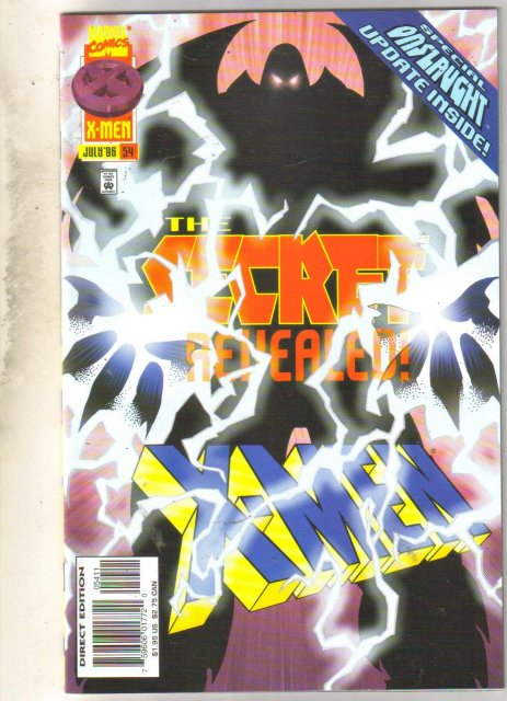 X-Men #54 comic book near mint 9.4