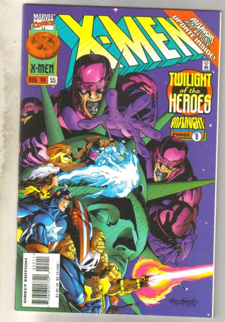 X-Men #55 comic book near mint 9.4