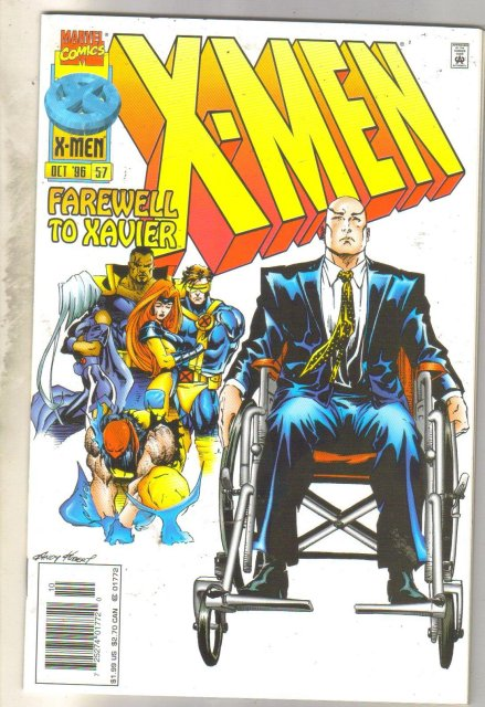 X-Men #57 comic book near mint 9.4