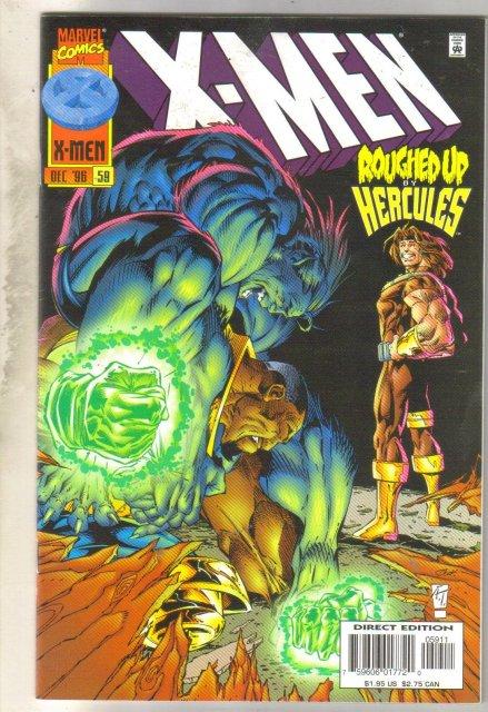 X-Men #59 comic book near mint 9.4