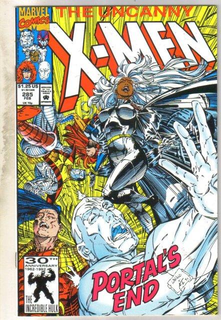 Uncanny X-men #285 comic book near mint 9.4