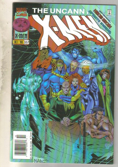 Uncanny X-Men #337 comic book near mint 9.4