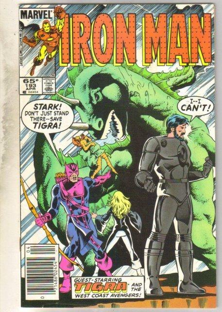 Iron Man #193 comic book near mint 9.4