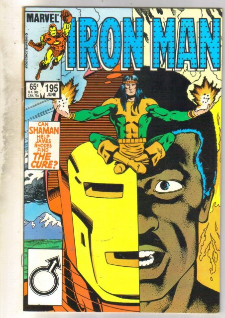 Iron Man #195 comic book near mint 9.4