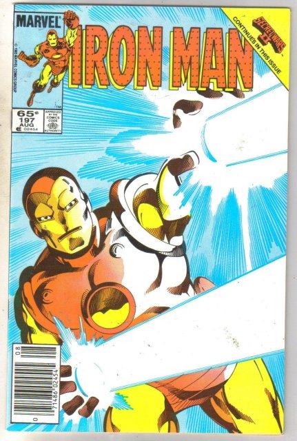Iron Man #197 comic book near mint 9.4