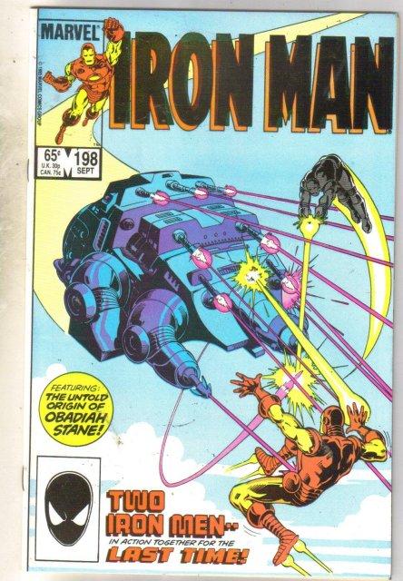 Iron Man #198 comic book mint 9.8