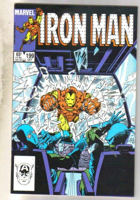 Iron Man #199 comic book near mint 9.4