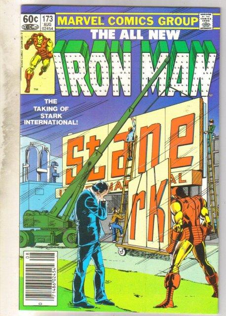Iron Man #173 comic book near mint 9.4