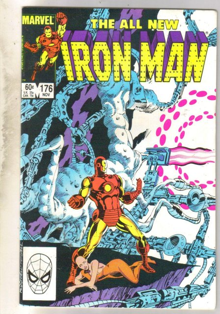 Iron Man #176 comic book near mint 9.4