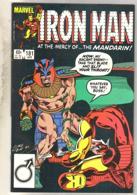 Iron Man #181 comic book near mint 9.4