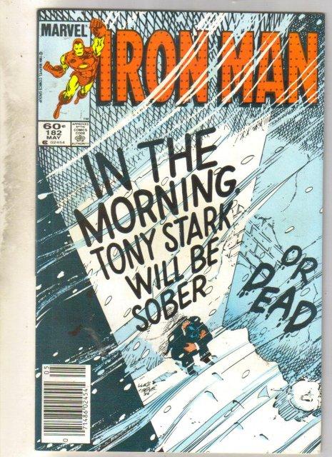 Iron Man #182 comic book near mint 9.4
