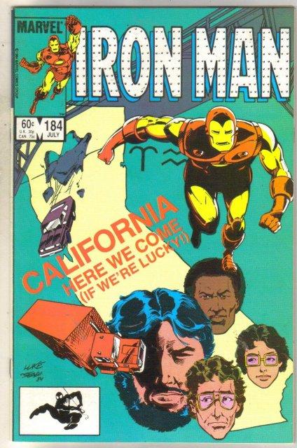 Iron Man #184 comic book near mint 9.4