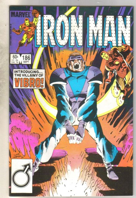 Iron Man #186 comic book very fine 8.0
