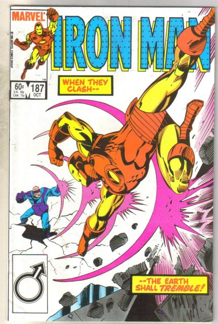 Iron Man #187 comic book near mint 9.4
