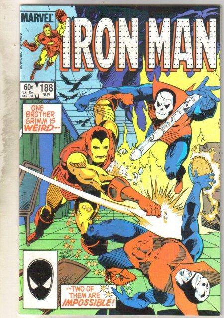 Iron Man #188 comic book near mint 9.4
