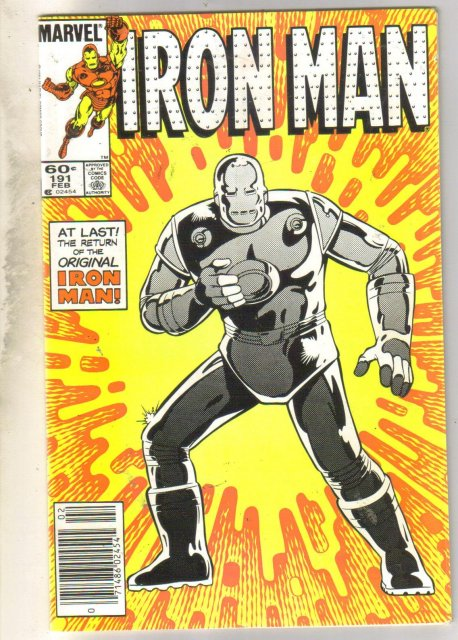 Iron Man #191 comic book very good 4.0
