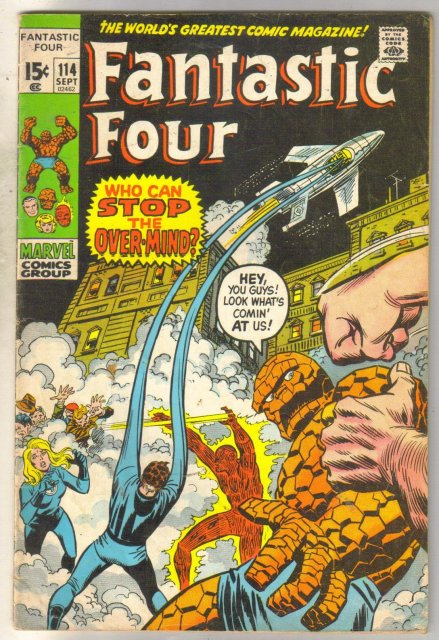 Fantastic Four #114 comic book good/very good 3.0