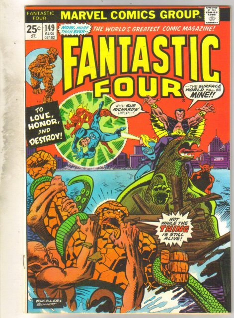 Fantastic Four #149 comic book very fine 8.0